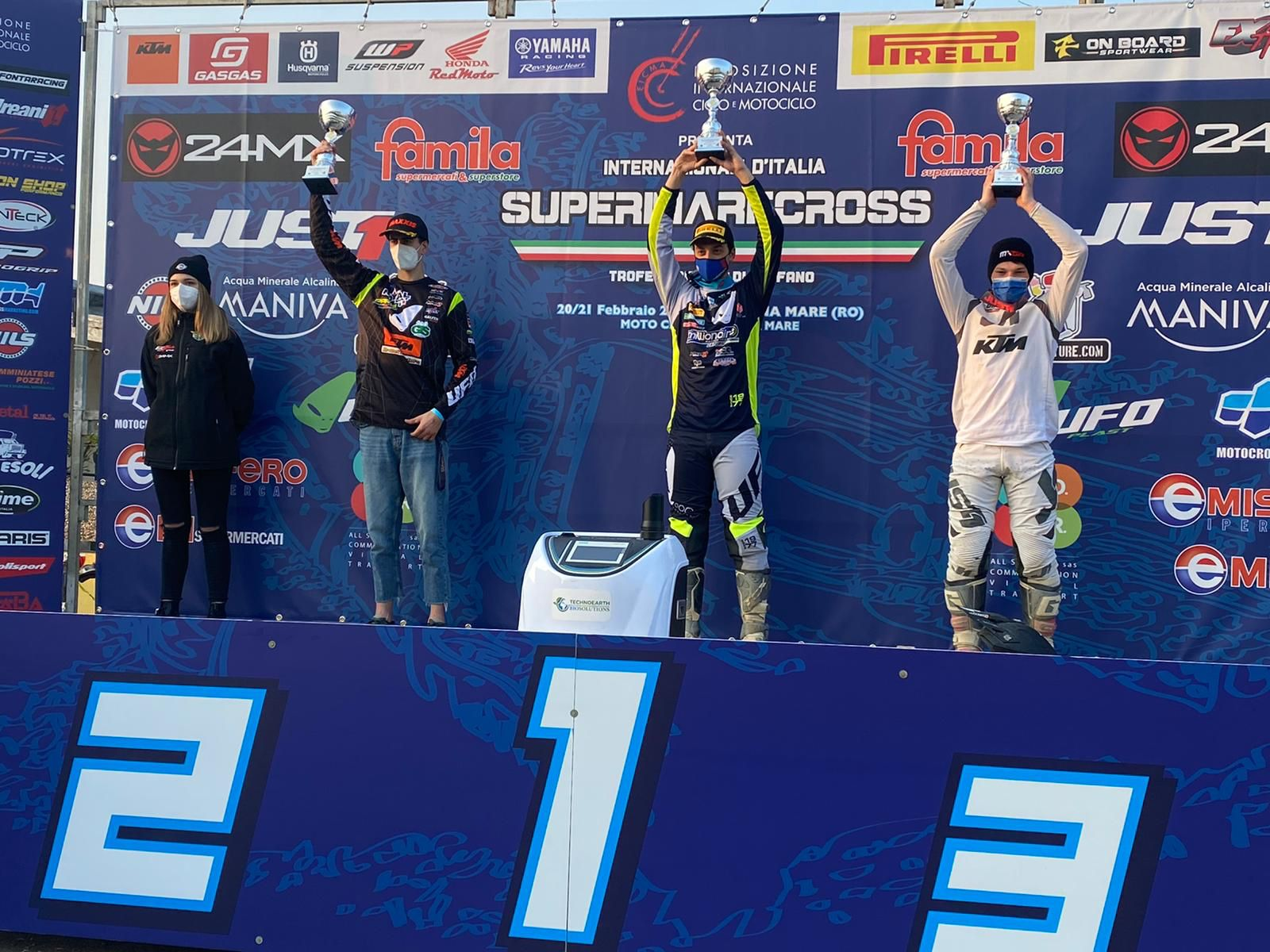 Supermarecross, a Bertuccelli il round della vigilia del Supercampione a Rosolina Mare