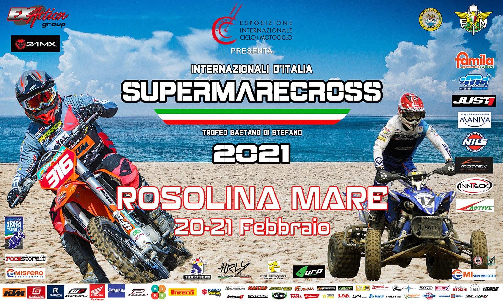 La stagione nazionale del fuoristrada si apre da Rosolina con la prima del Supermarecross