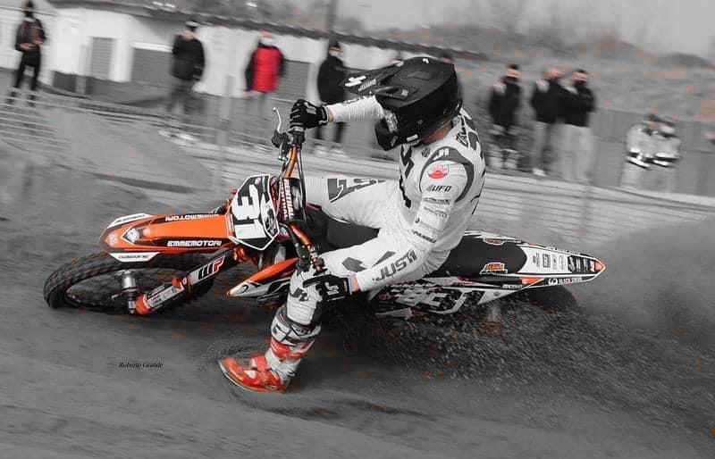 Francesco Bassi ancora protagonista nel Supermarecross, con un ottimo 4° posto a Maccarese