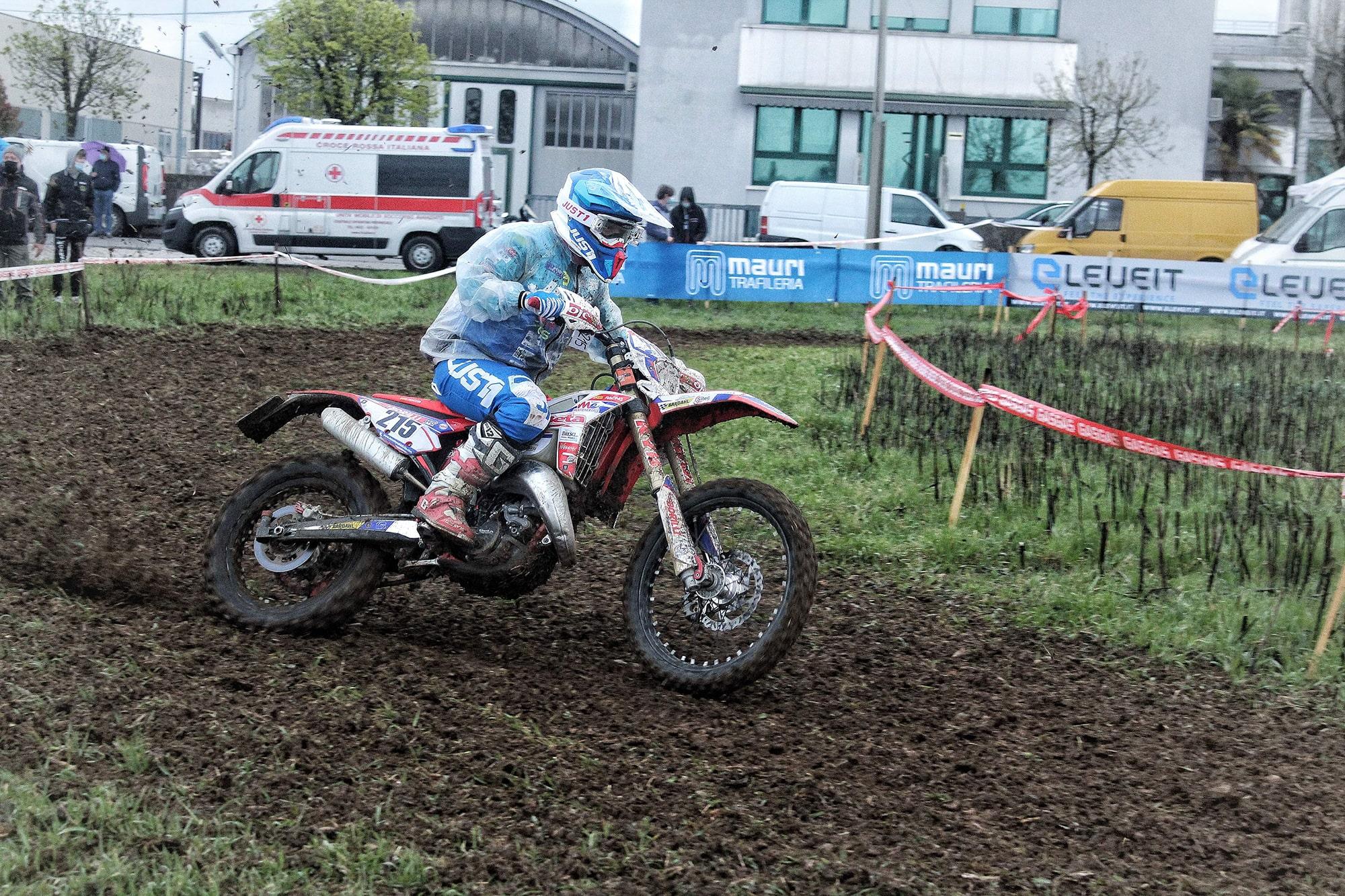 Doppio podio per SGS Racing nella 2a tricolore enduro Under 23/Senior in Friuli