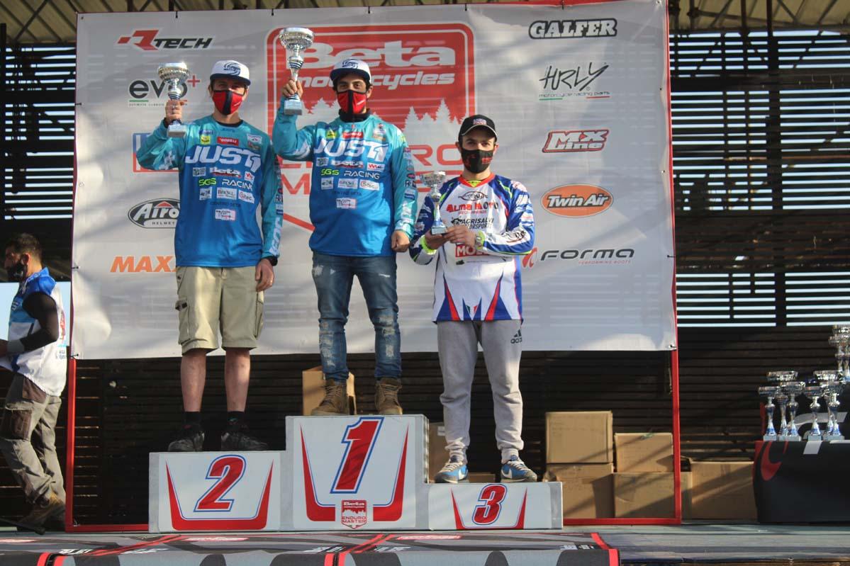 Splendida vittoria assoluta per SGS Racing alla 1a di toscano e Master Beta enduro a Riotorto