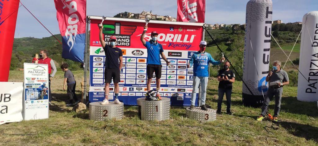 Altri podi per il team SGS Racing nell'italiano Enduro Under 23/Senior a Tolve